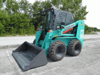 Skid steer loader Kato Imer AS 28