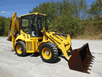 Backhoe loader Palazzani PB 80 E