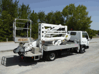 Truck mounted aerial platform Isoli PNT 185