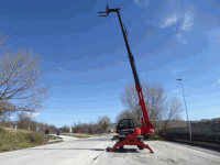 Rotating Telescopic Handler Manitou MRT 1840 Easy
