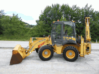 Backhoe loader Venieri 7.23 B