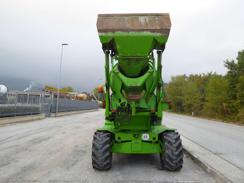 Merlo DBM 3500 EV   Concrete mixer   Piccinini Macchine