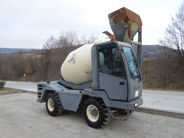 Terex Mariner 35 G | Concrete mixer | Piccinini Macchine