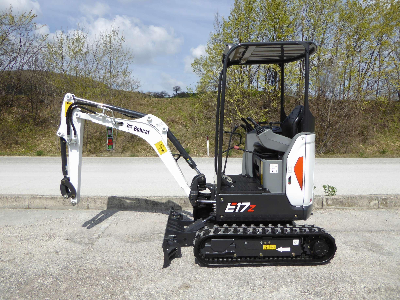 Bobcat E 17 Z | Mini excavator | Piccinini Macchine